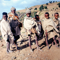 Etiópia 1964