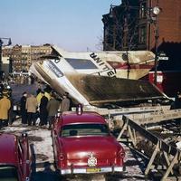 Repülő zuhant New Yorkra a karácsonyi készülődés alatt - 1960