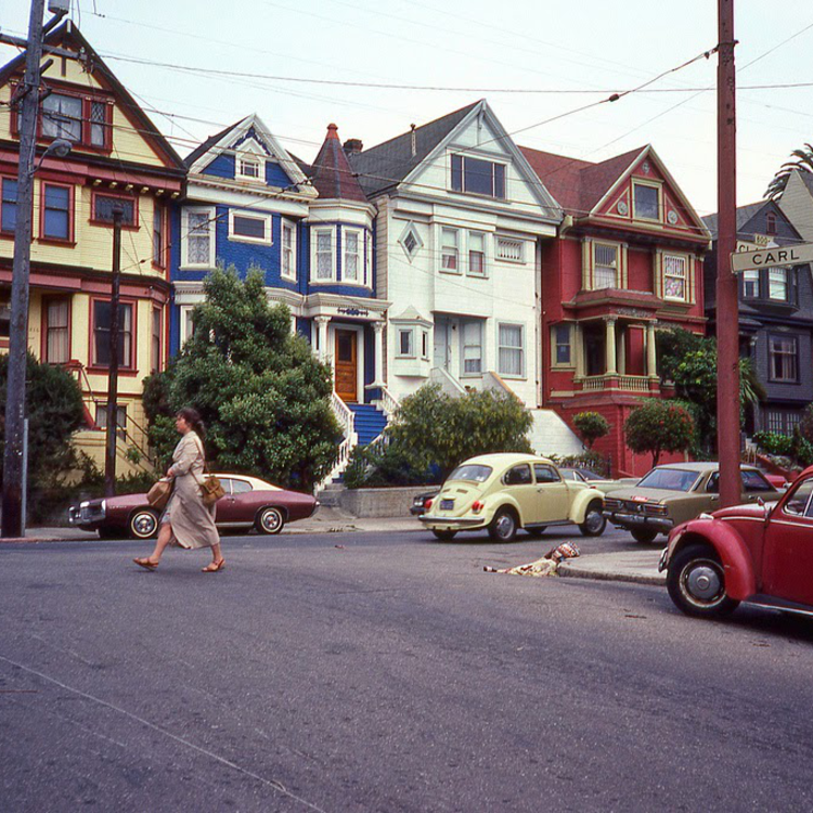 Kalifornia utcáin - 1980-as évek