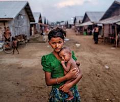 A rohingya népirtás