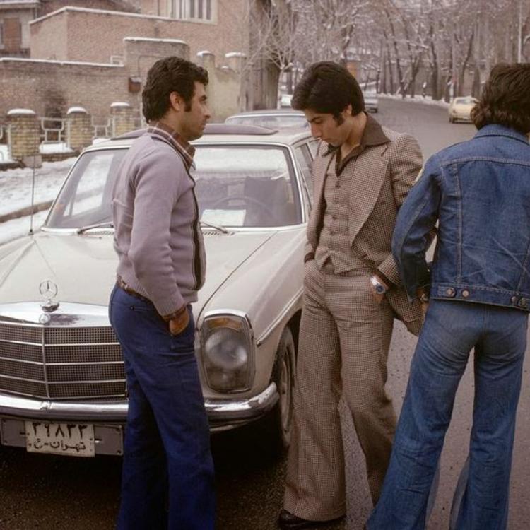 Iráni divat a hetvenes években