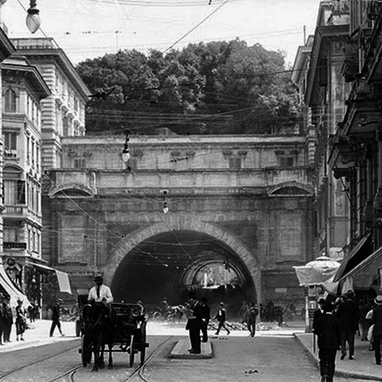 Róma a 19. század végén