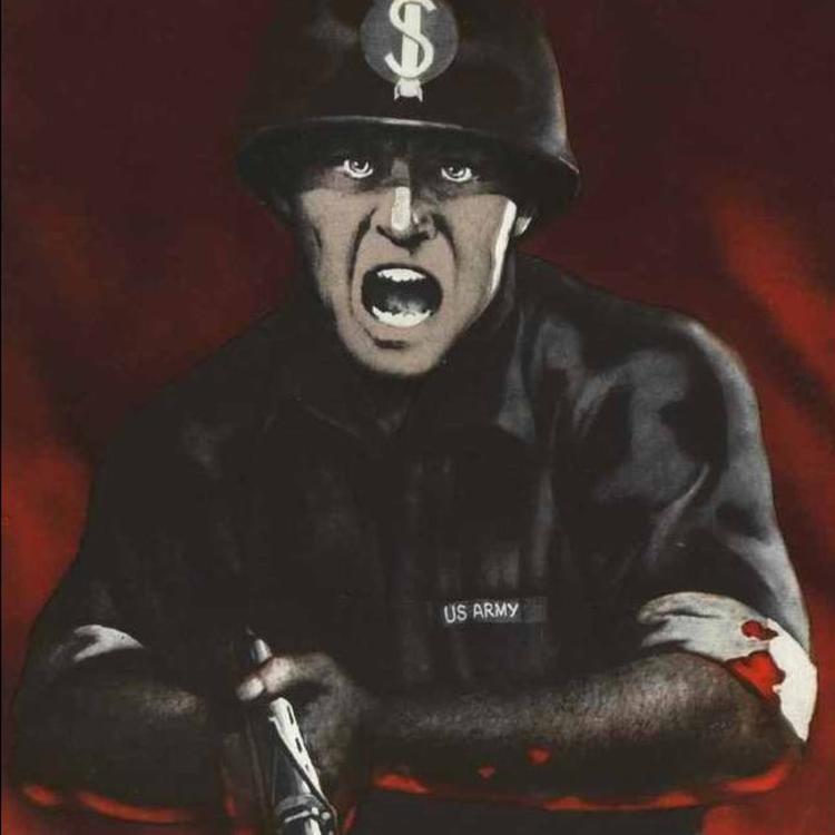 Amerika ellenes plakátok a Szovjetunióban