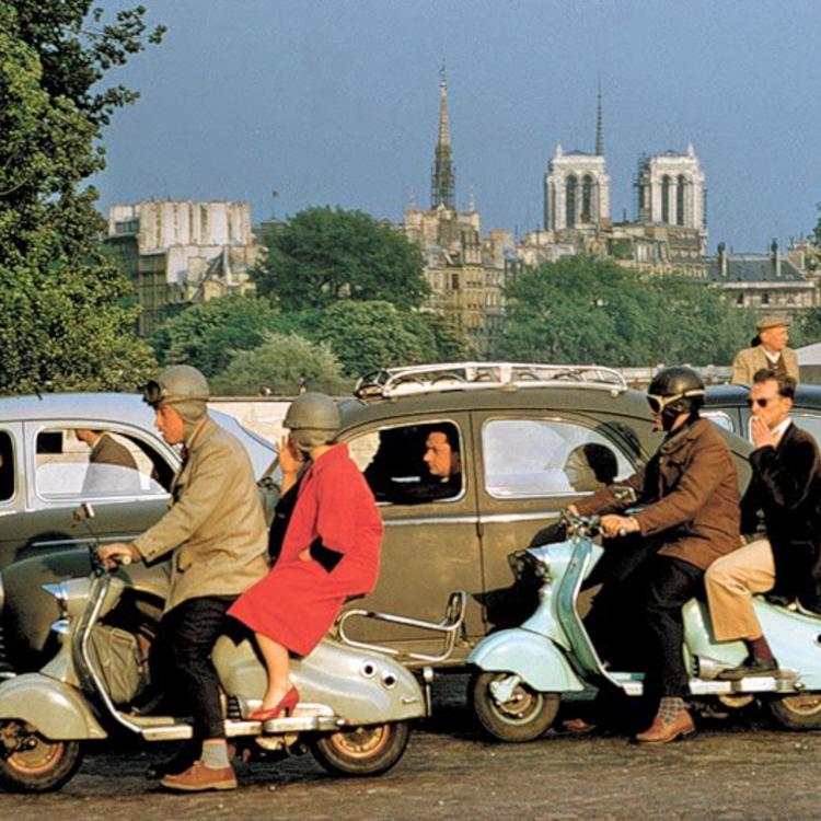 Franciaország az ötvenes években, csodás képeken