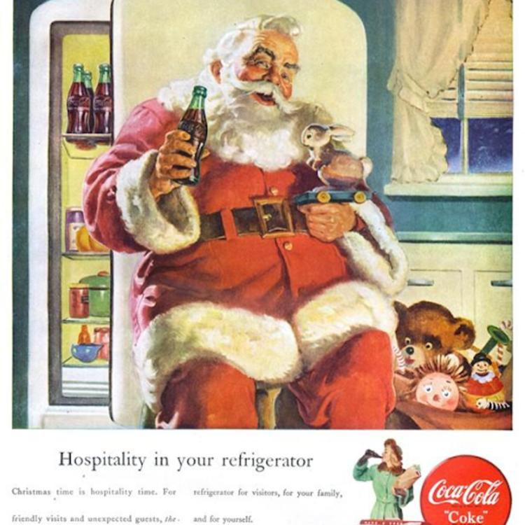 Az 1950-es évek karácsonyi hirdetései 1.