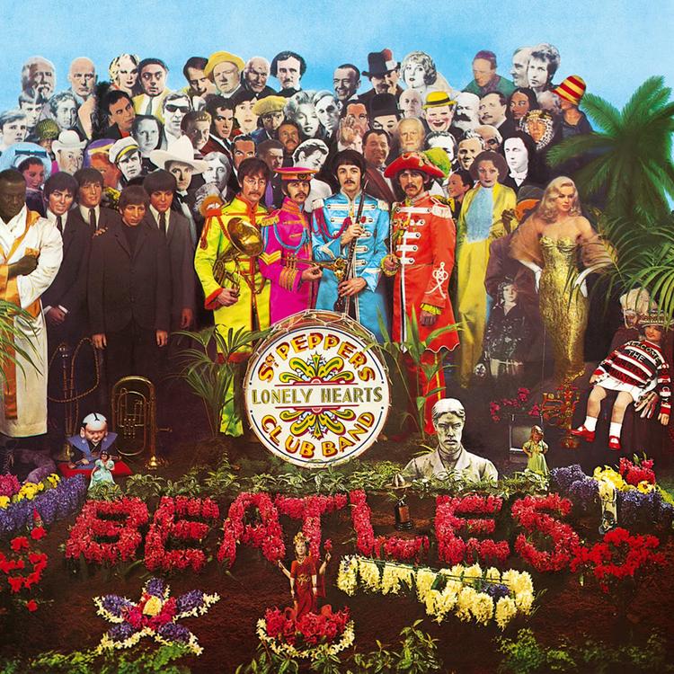 Beatles - Bors őrmester lemezborító fotózása