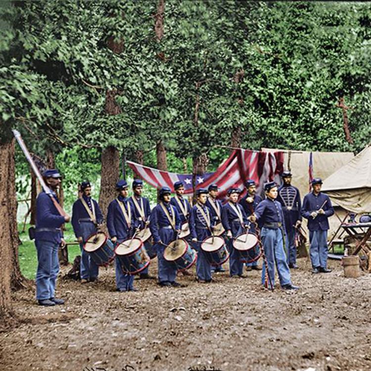 Az Amerikai polgárháború színesben