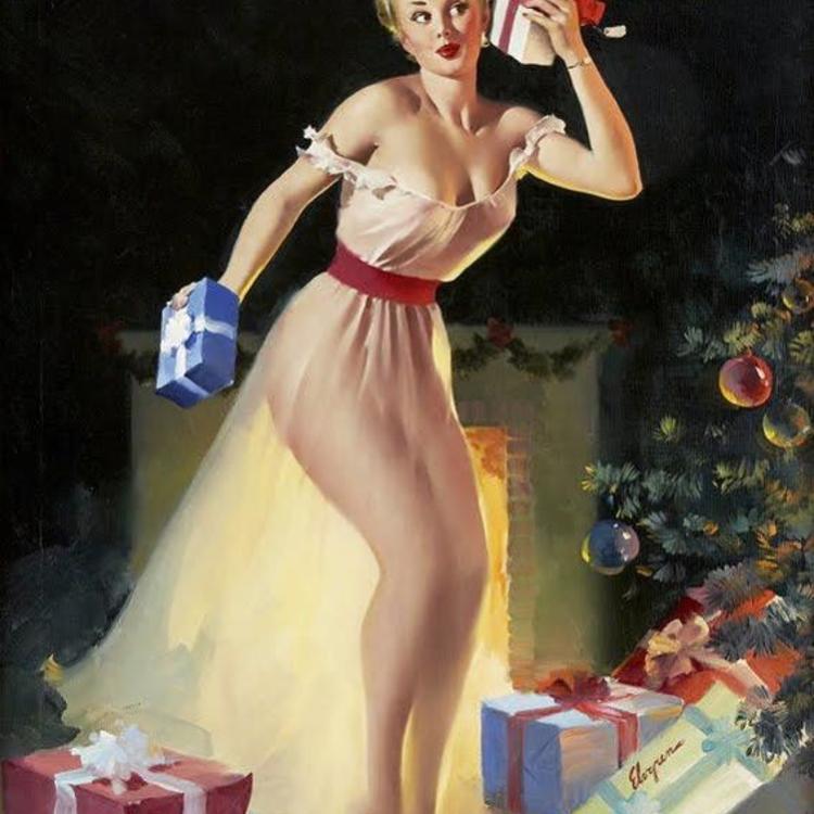 Boldog Pin-up Karácsonyt!