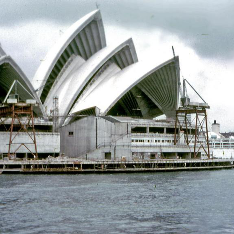 A Sydney-i operaház építése