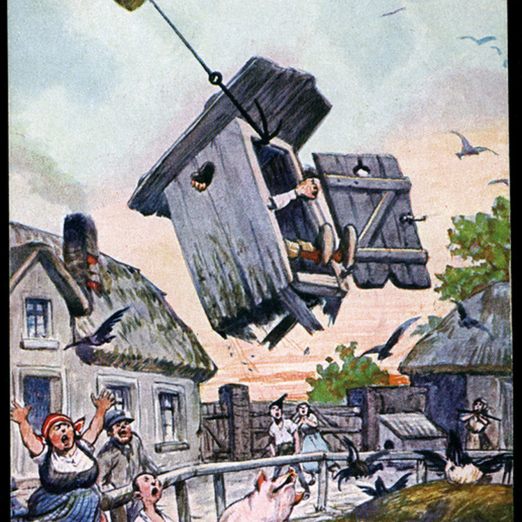 Új fajta légi kártevők - 1900.