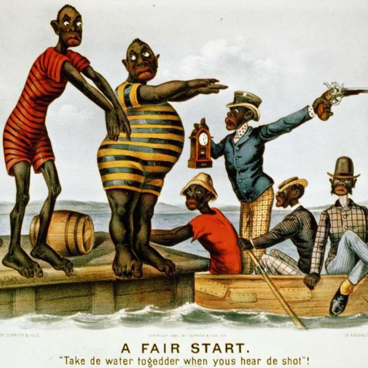 Darktown - Rasszista képregény a 19. század végéről