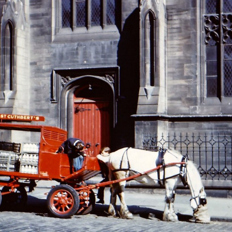 Edinburgh az 1950-es években