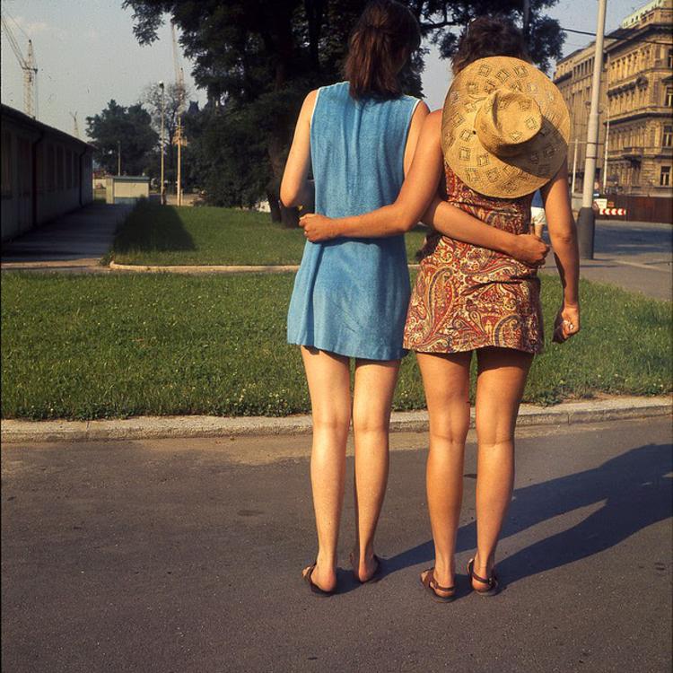Prága a 70-es években
