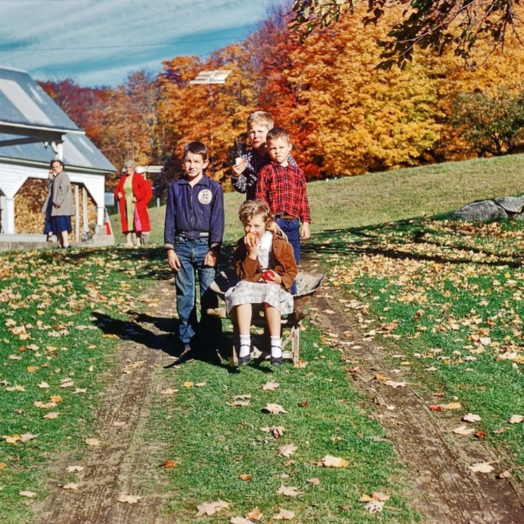 25 év amerikai életstílus Kodachrome-on