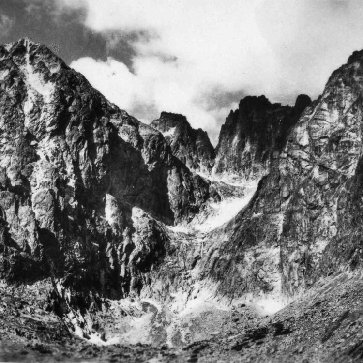 Magas-Tátra az ötvenes években