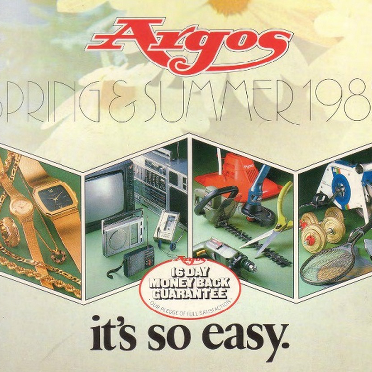 Argos katalógus - 1985