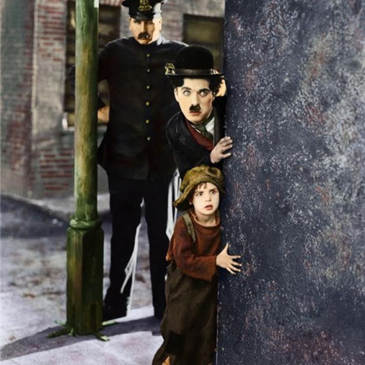 Chaplin színesben