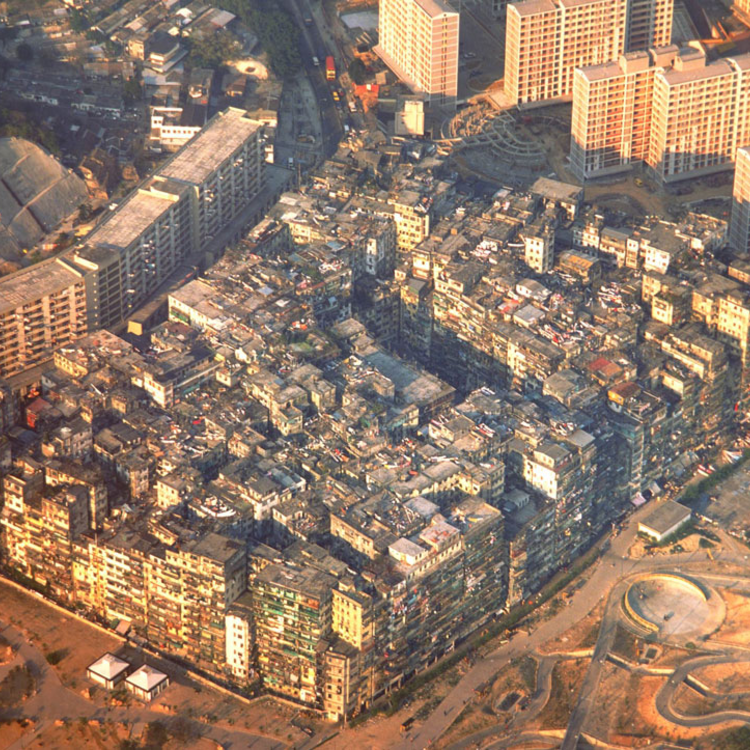 Kowloon Walled City - 1980