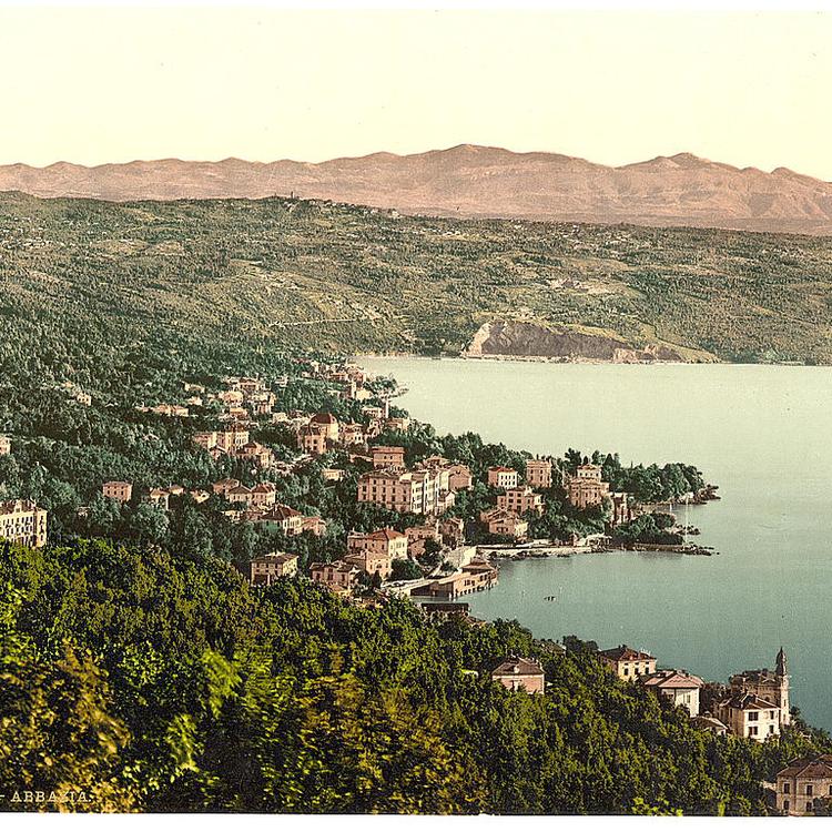 Isztria 1880-1900 körül
