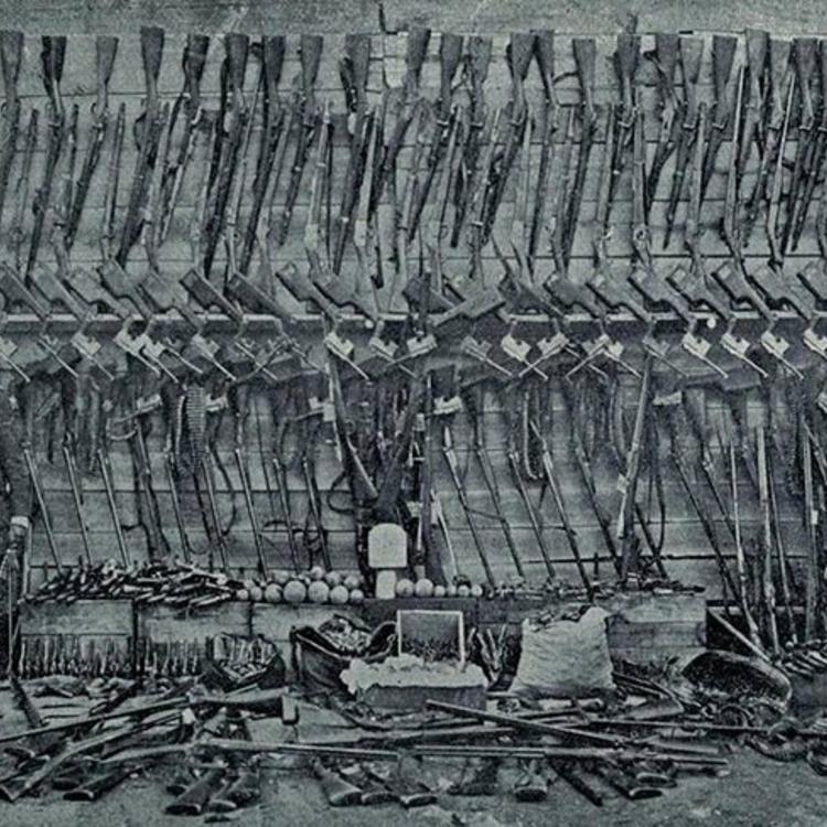 Zsákmányolt örmény fegyverek - 1915-20