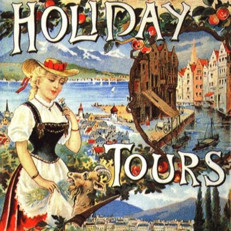 Antik utazási plakátok