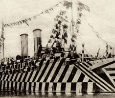 A hadihajó, amit szigetnek álcáztak