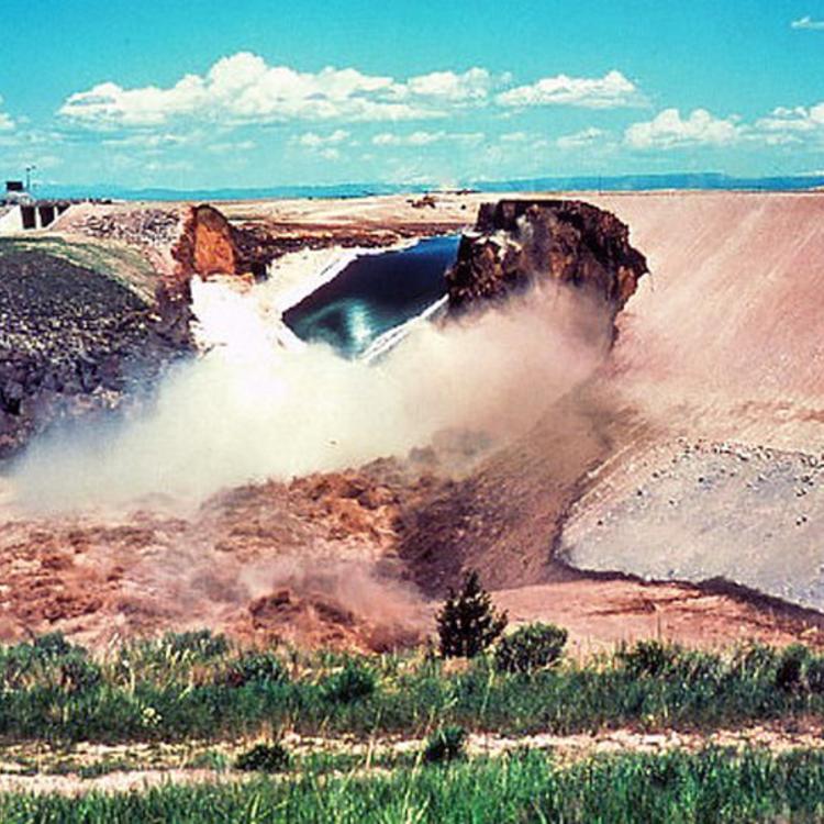 A Teton-gát katasztrófája -1976