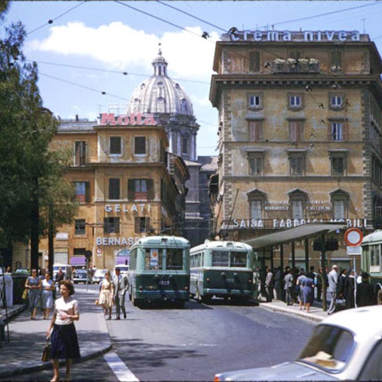 Róma színesben - 1960