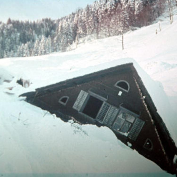 A legsúlyosabb osztrák lavinakatasztrófa - Blons 1954