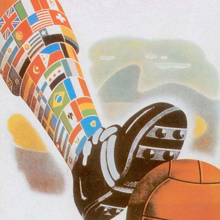 Labdarúgó világbajnokságok plakátjai 1930-2018
