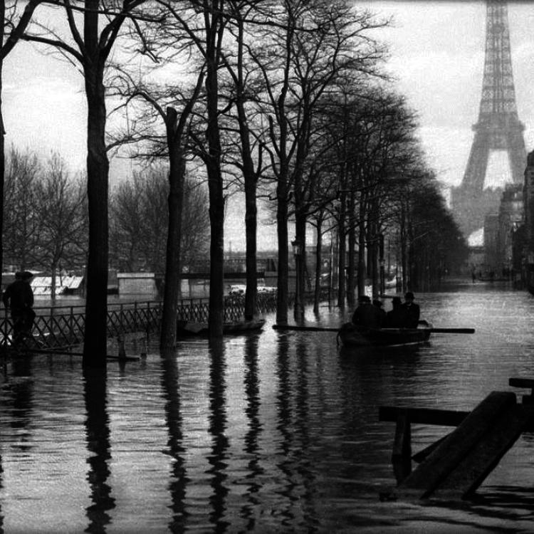 A nagy párizsi árvíz - 1910