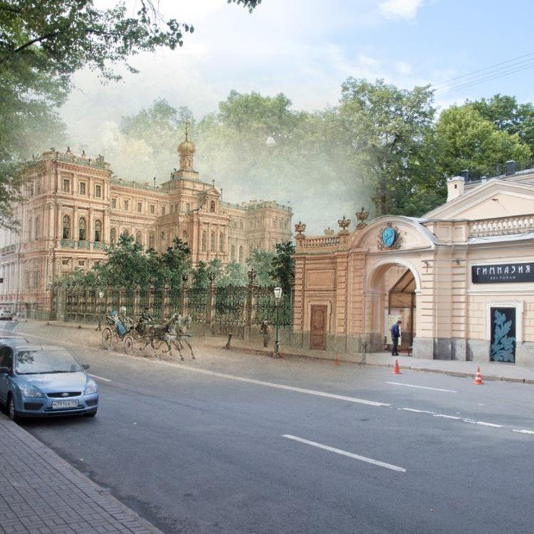 Időkapu festményeken - Szentpétervár
