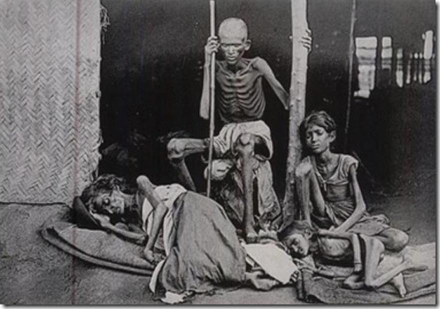 1943. Britek indukálta mesterséges éhinség Bengáliában (India). Kb. 1.5-4 millióan haltak éhen..jpg