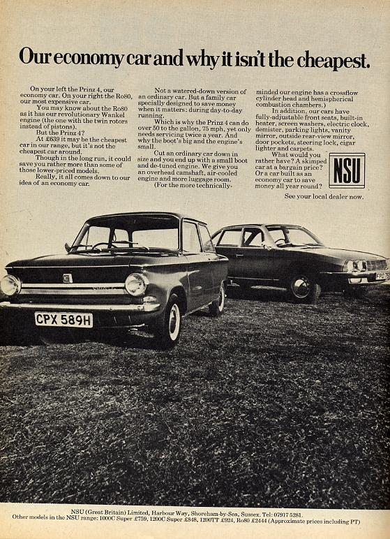 1970. NSU Prinz és Ro80.jpg