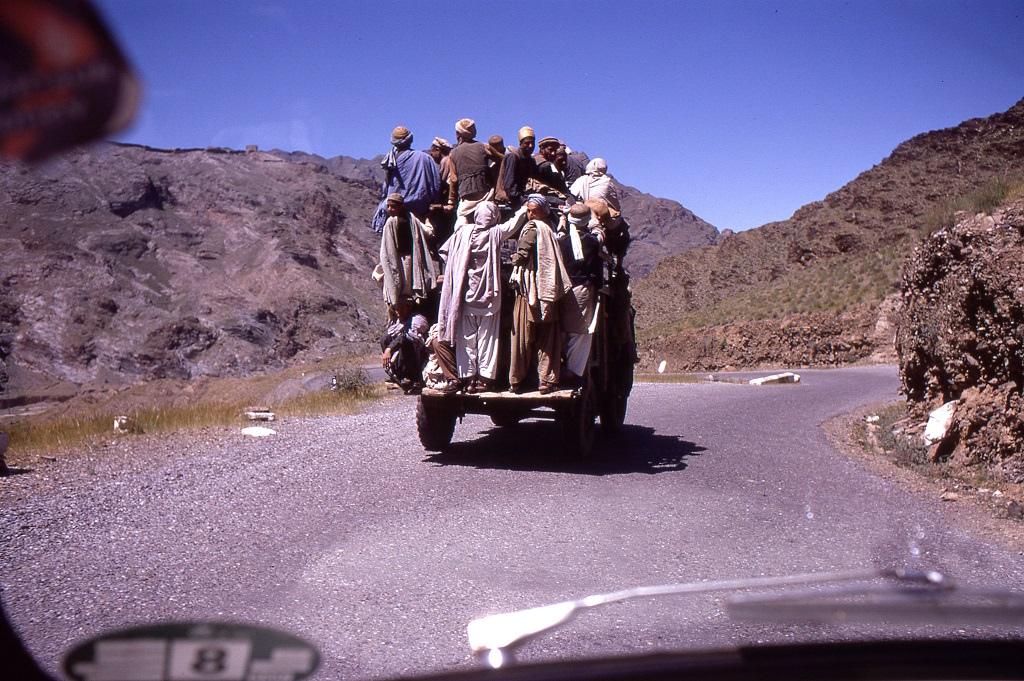 Személyszállítás a Khyber-hágón