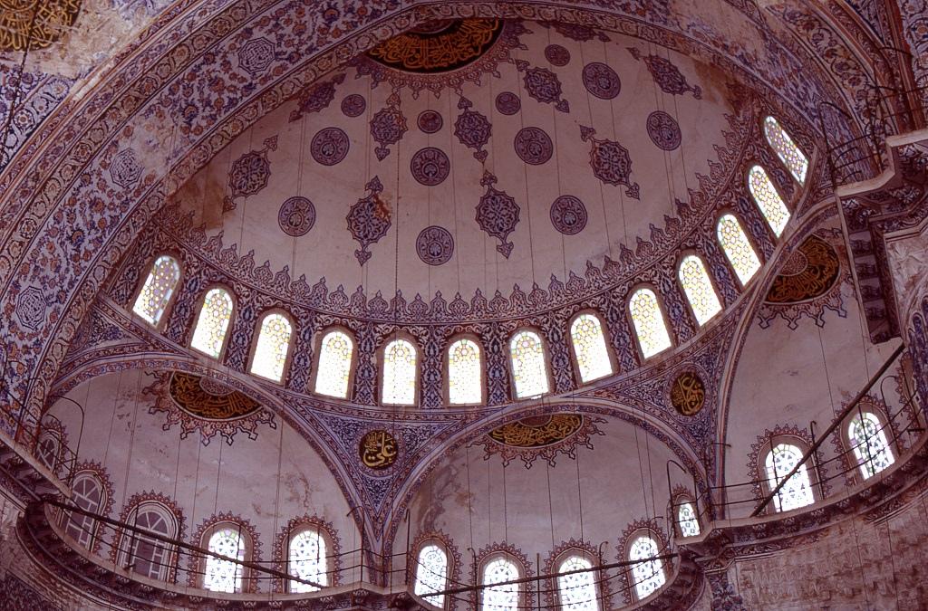 Ahmed szultán mecset kupolája