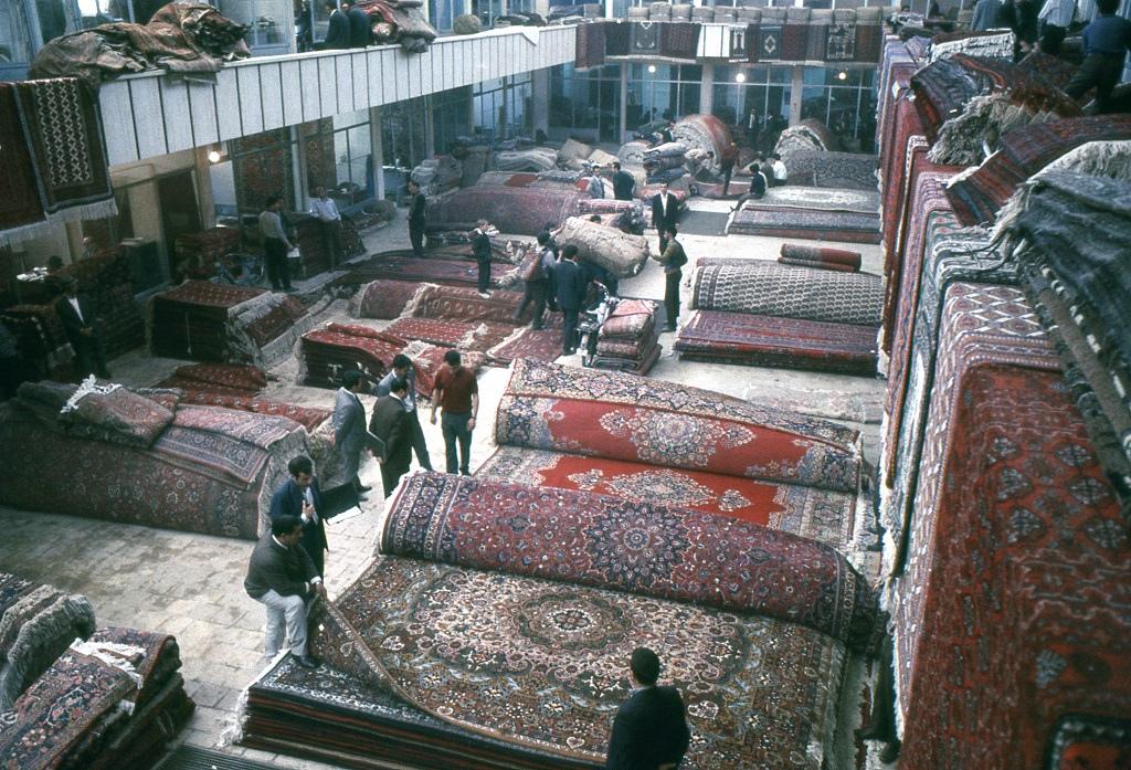 Isztambuli szőnyegbazár