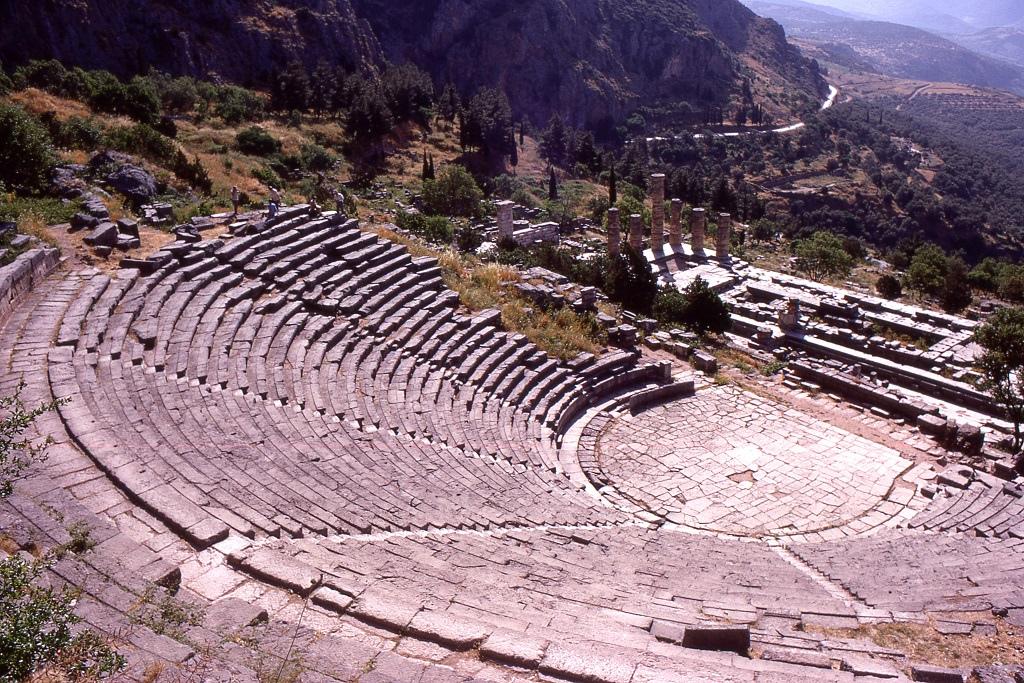 Amfiteátrum Delphiben.