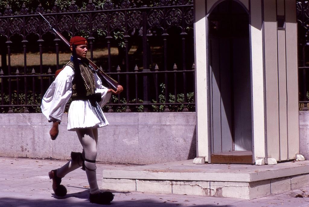 Tradicionális görög őrség