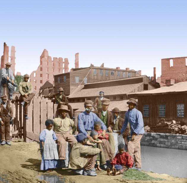 40_Freed Slaves in Richmond, Virginia.jpg