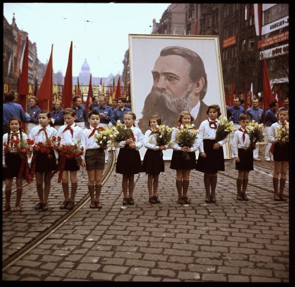 May Day Parade in Prague, Czech Republic in 1956 (3).jpg
