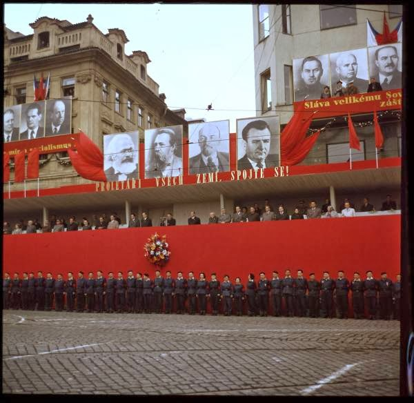 May Day Parade in Prague, Czech Republic in 1956 (7).jpg