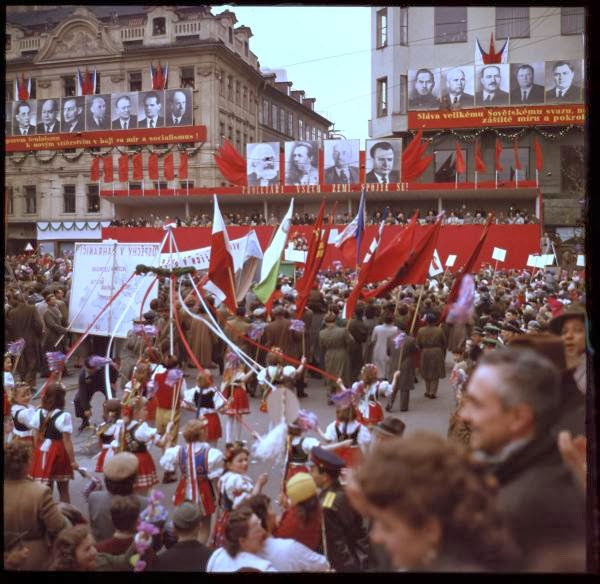 May Day Parade in Prague, Czech Republic in 1956 (8).jpg