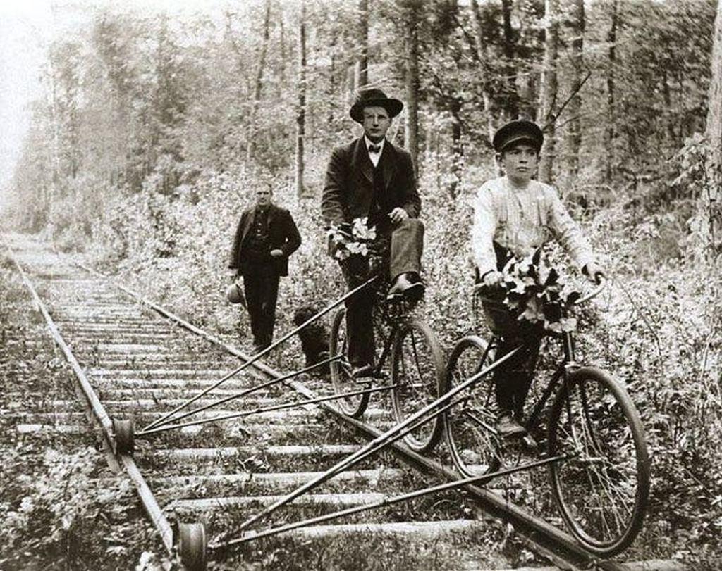 1910_bikes_that_ran_on_railroad_tracks_pellston_michigan.jpg