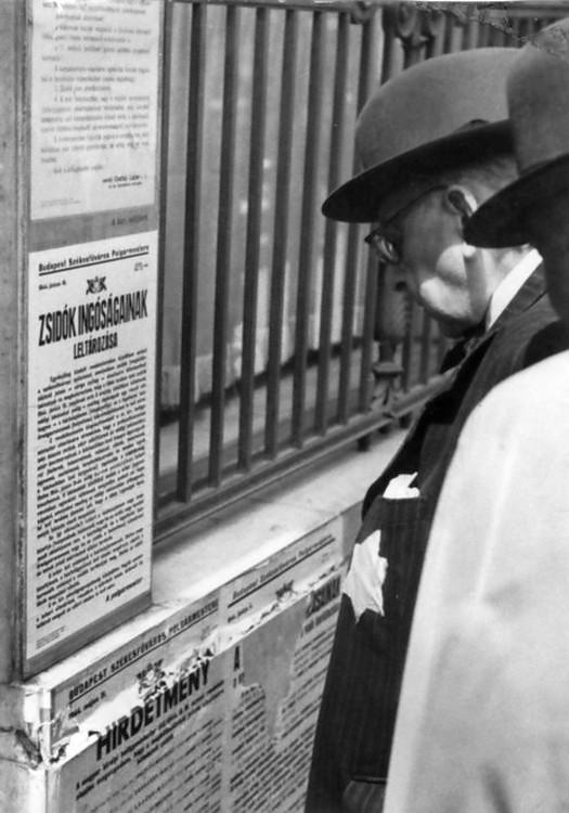 1944_junius_sarga_csillagot_viselo_ferfi_a_zsidok_ingosagainak_leltarozasarol_szolo_hirdetmenyt_olvas_budapesten_janosffy_endre_cr.jpg