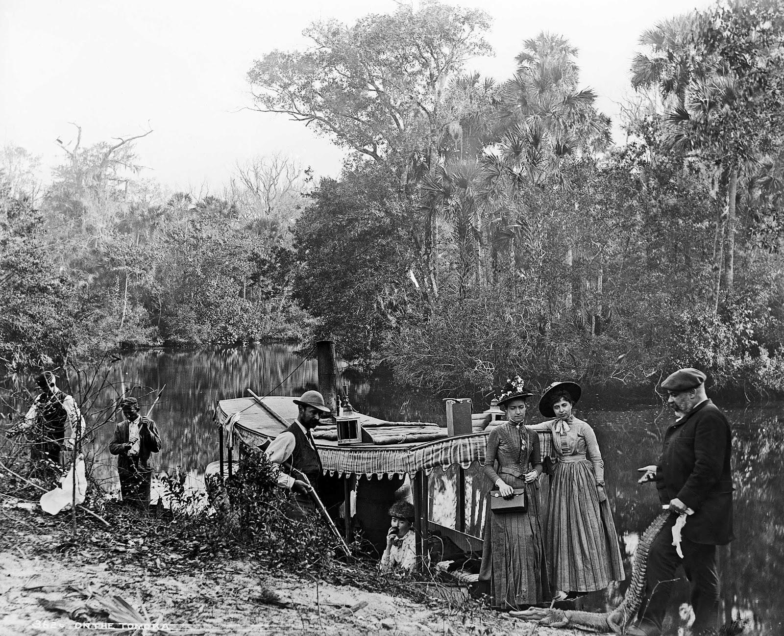 1892. Utazás a Tomoka folyó mentén, Floridában..jpg