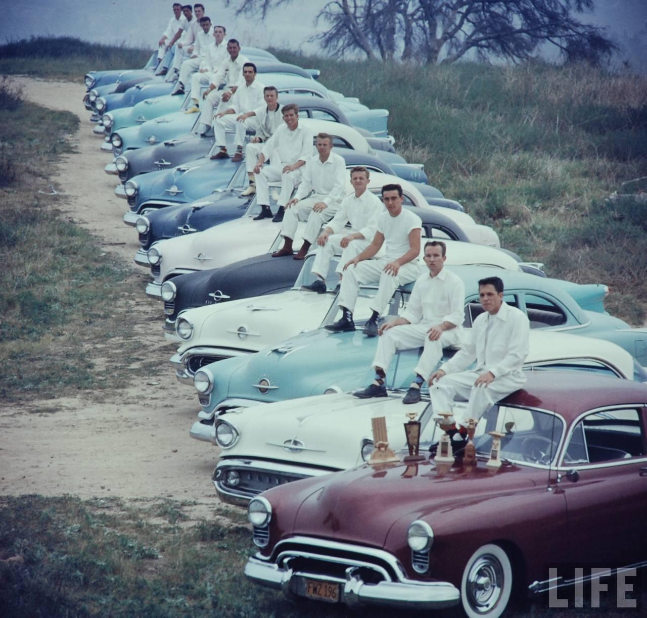 1960. National Hot Rod Association's (NHRA) Drag Racing találkozó Santa Ana, California..jpg