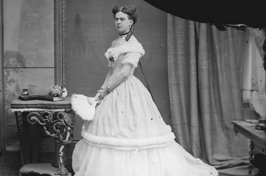 1869. Frederick William Park, másnéven Fanny, az első transzvesztita a viktoránus Angliából..jpg