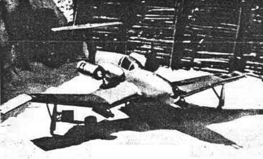 1944 Weiss Manfréd XNI-2 Kaméleon kísérleti sugárhajtóműves vadászgép.jpg