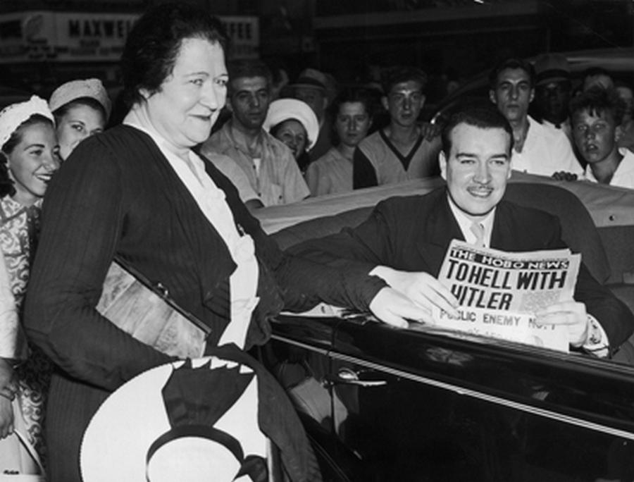 1942 körül. William Patrick Hitler, a diktátor unokaöccse az Államokban..jpg